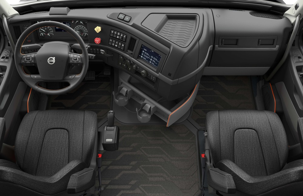 New Volvo VNR Interior